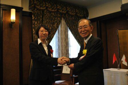 李聡さんと丹羽会長